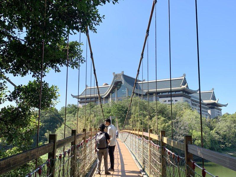 峨眉鄉入選2021台灣經典小鎮,峨眉湖、天恩禪寺是當地重要景點。記者巫鴻瑋/攝影