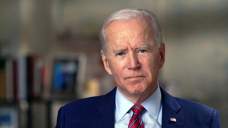 美國民主黨總統候選人拜登。美聯社