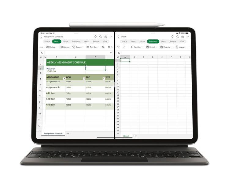 Office for iPad推出滑鼠和觸控板支援更新,提供更接近電腦版的便利使...