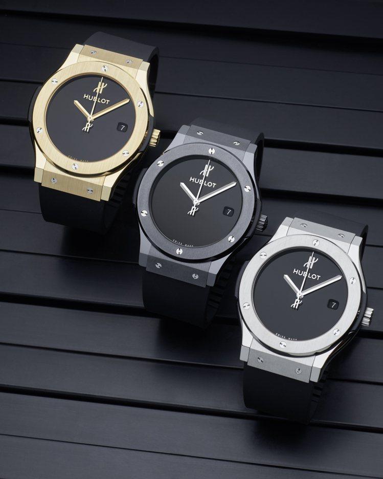 宇舶表為了慶祝品牌創立40周年,推出了三款紀念腕表,恰恰都符合了創新、融合的藝術...