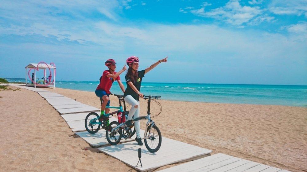 呼應交通部觀光局2021年為「自行車旅遊年」,雄獅超前部屬特別與「MIT」外銷世...