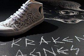 海怪佔領鞋身 agnès b. x Spring Court推高筒新款