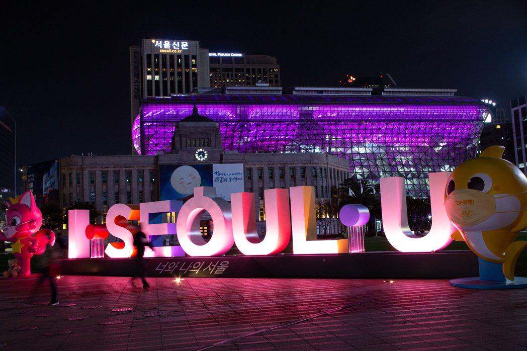 首爾的新增新冠病例起起伏伏。歐新社