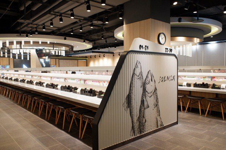 「點爭鮮」以全新概念店裝,進駐遠百板橋中山店13樓。記者江佩君/攝影