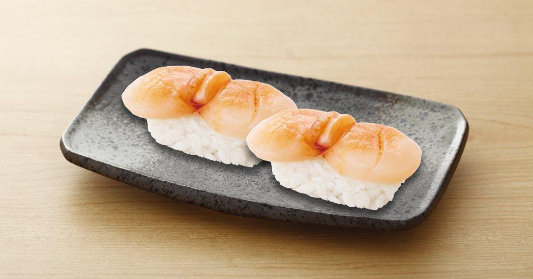「點爭鮮」板橋店即日起至11月8日推出厚切干貝買一送一。圖/點爭鮮提供
