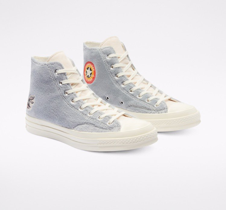 Converse Bugs Bunny聯名系列Chuck 70鞋3,480元。圖...
