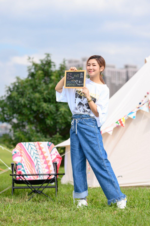 任家萱(Selina)辦露營野餐替新歌「四季」造勢。圖/任真美好提供