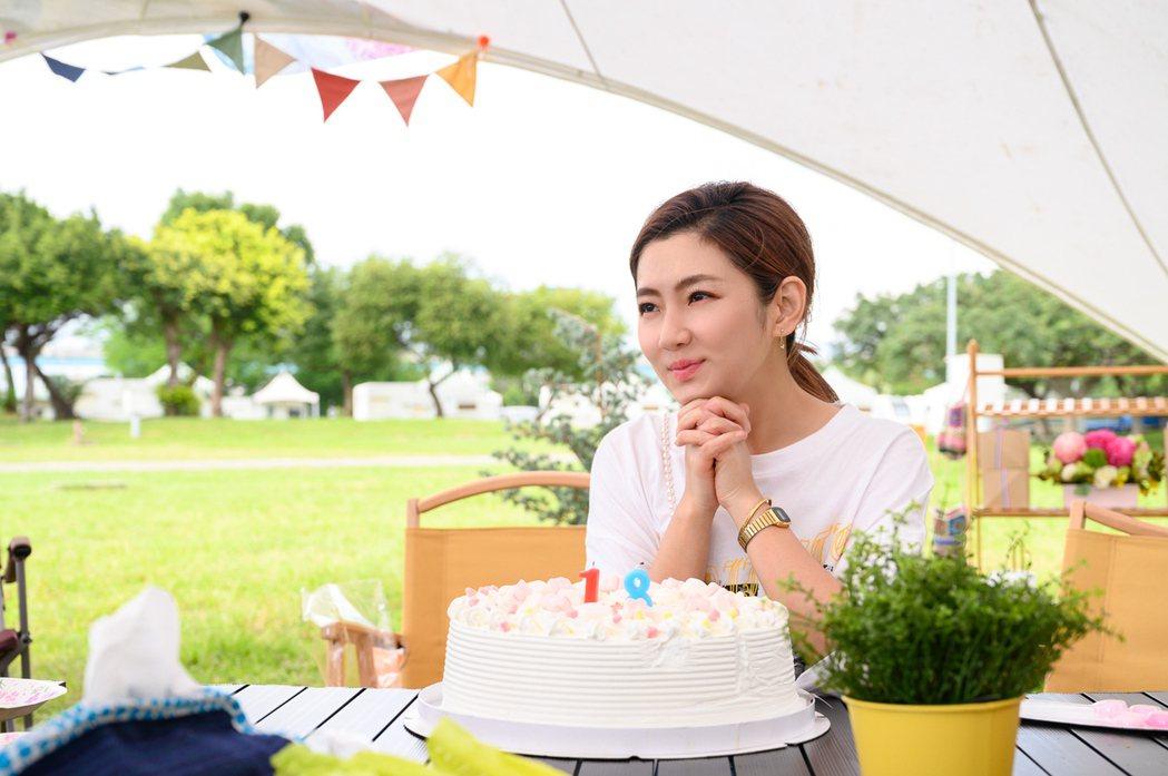 任家萱(Selina)提前慶祝39歲生日。圖/任真美好提供