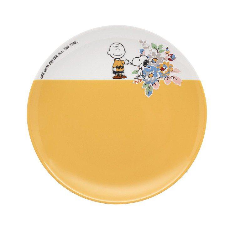 Snoopy聯名系列餐盤(天空藍),780元。圖/Cath Kidston提供