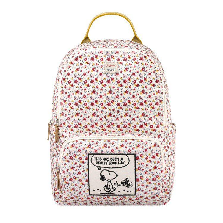 Snoopy聯名系列後背包,4,680元。圖/Cath Kidston提供
