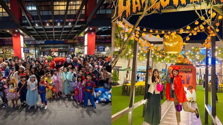 全台各大百貨商場推出一系列萬聖主題活動與民眾同歡。圖/業者提供