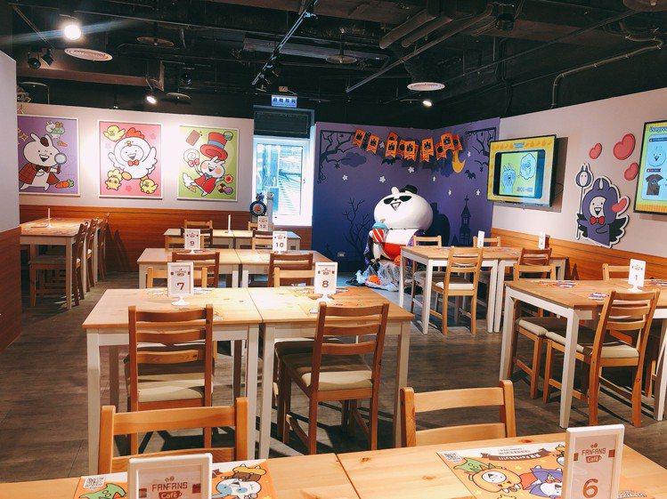 誠品生活武昌店推出「FANFANS CAFE」主題餐廳,即日起至11月30日快閃...