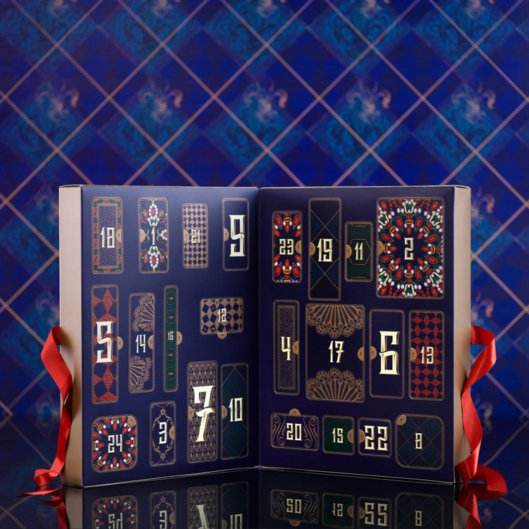 SABON 2020胡桃鉗幻遊倒數月曆/4,180元。圖/SABON提供