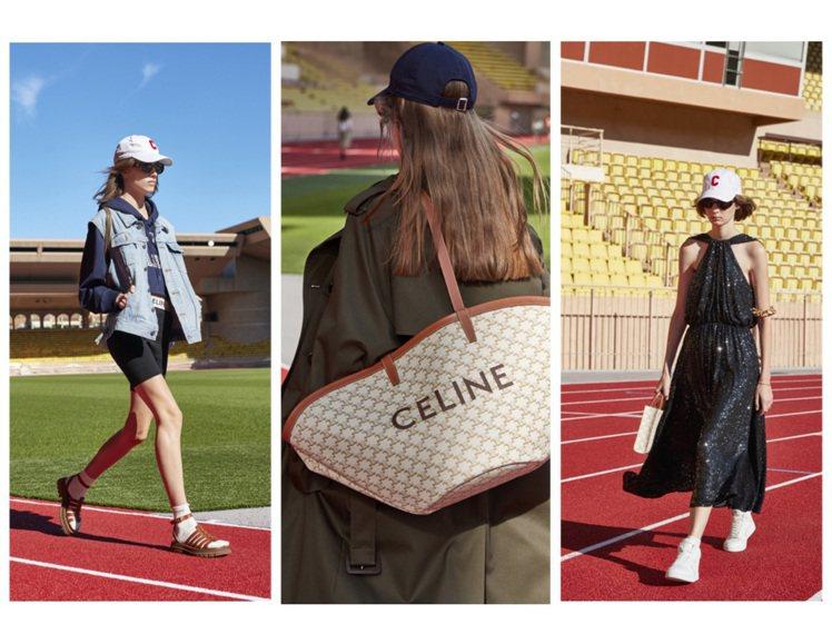 CELINE發表2021春夏系列。圖/CELINE BY HEDI SLIMAN...