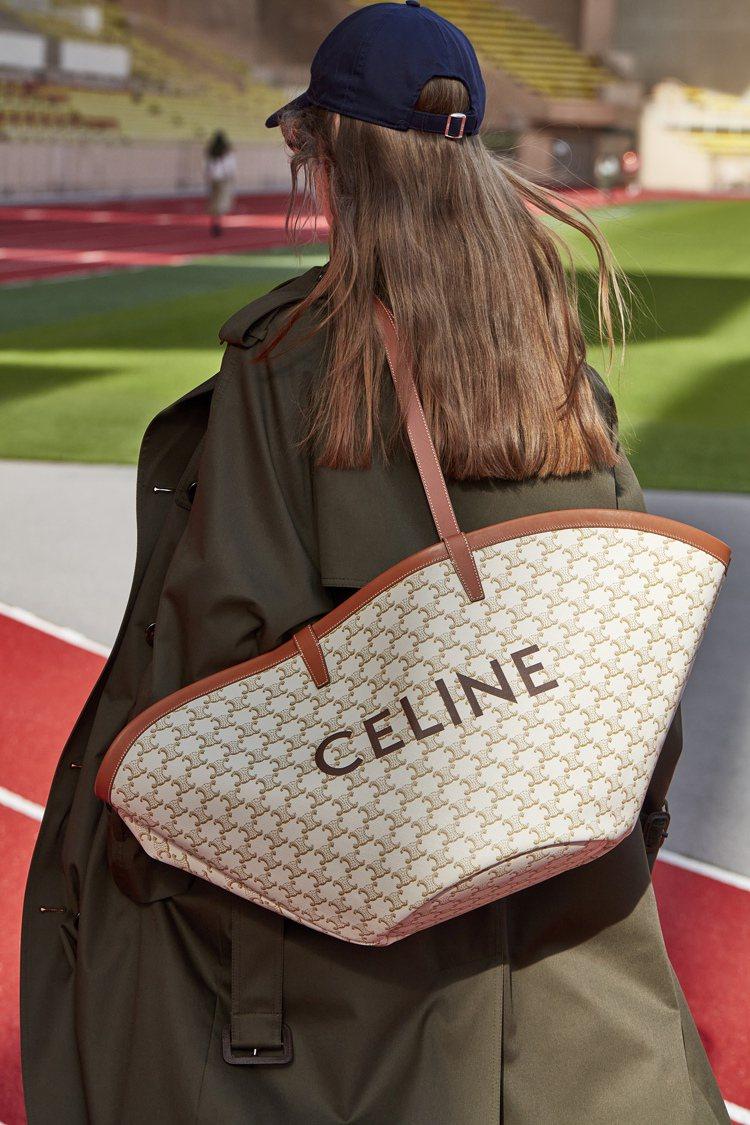 2021春夏Basket包款。圖/CELINE BY HEDI SLIMANE提...