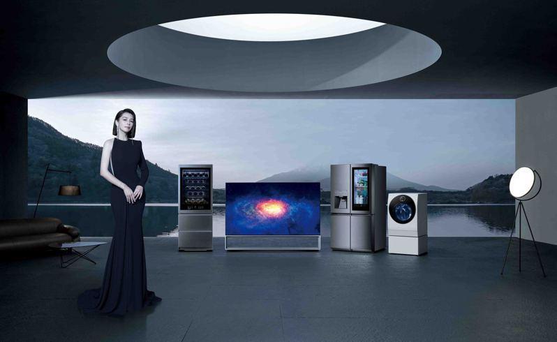LG SIGNATURE 將簡約藝術設計發揮到極致,完整體現極致美學生活,以極簡工藝結合無可比擬的功能,給予消費者最不凡的使用體驗。圖/台灣LG提供