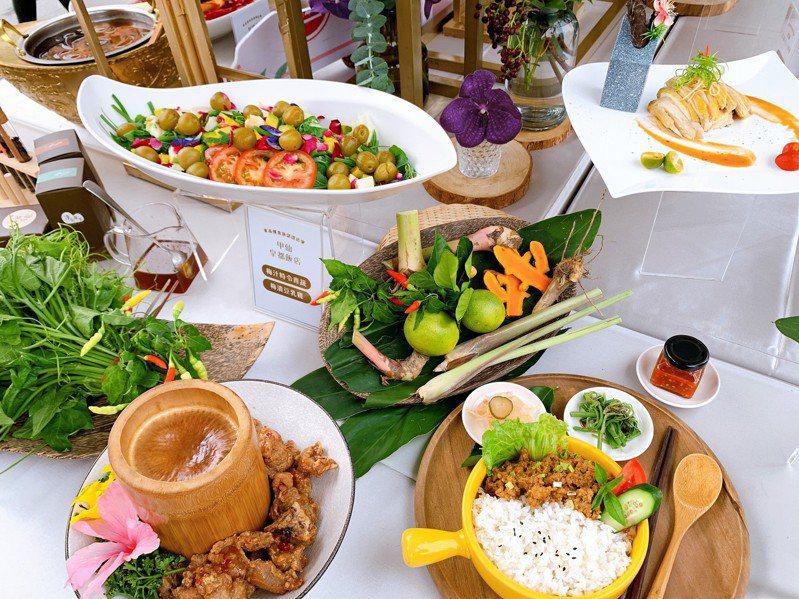 高雄市觀光局推出東高雄美食美景,要爭取團客與高端遊客。圖/高雄市觀光局提供