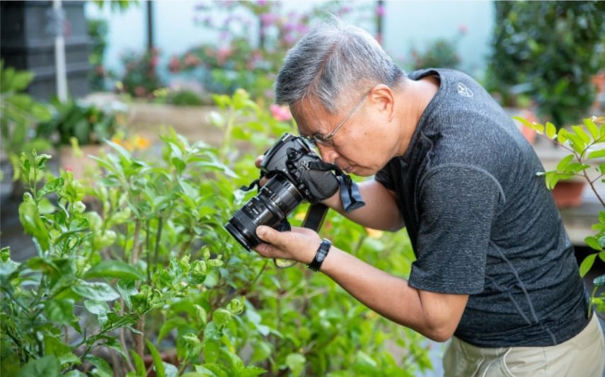 退休是精華時間,不該拿來「消磨」。 圖/吳欣穎 攝影