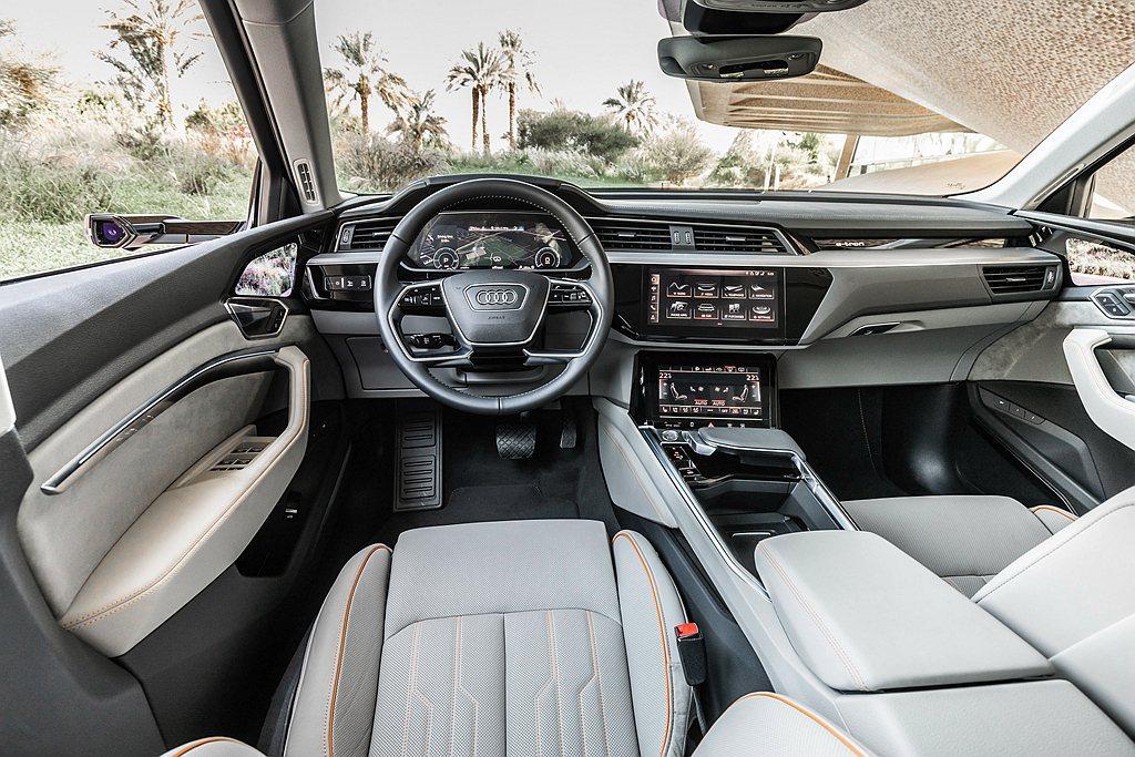 全數位虛擬後視鏡亦與車輛所搭載的主動安全配備相互應和,如後方有車輛快速接近時,透...