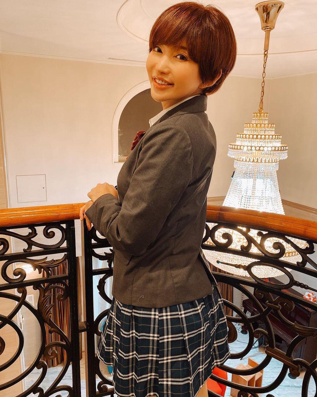 日本AV女優美尤利婭。 圖/擷自美尤利婭IG