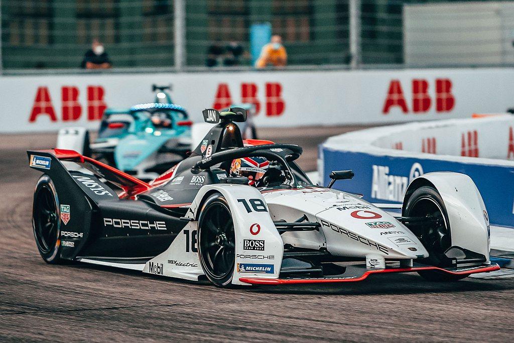 Porsche TAG Heuer Formula E車隊於ABB FIA Fo...