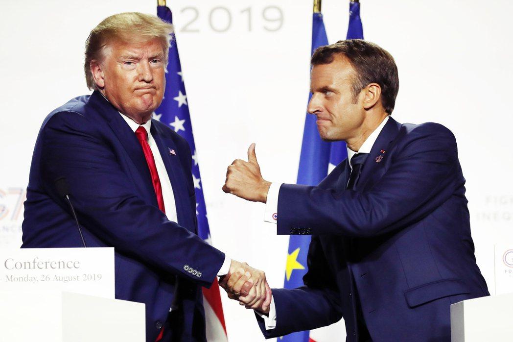 川普四年任期中,各種「美國優先」政策的後果,就是將歐洲更往戰略獨立方向推進。 圖...