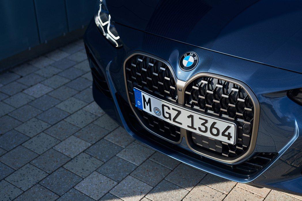 新世代BMW 4 Series。 摘自BMW
