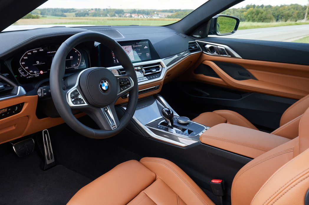 新世代BMW 4 Series Coupe (G22) 內裝。 摘自BMW