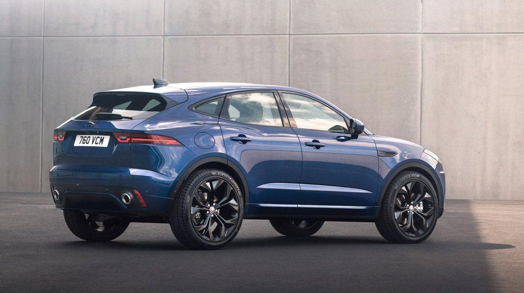 Jaguar E-Pace R-Dynamic。 圖/Jaguar提供