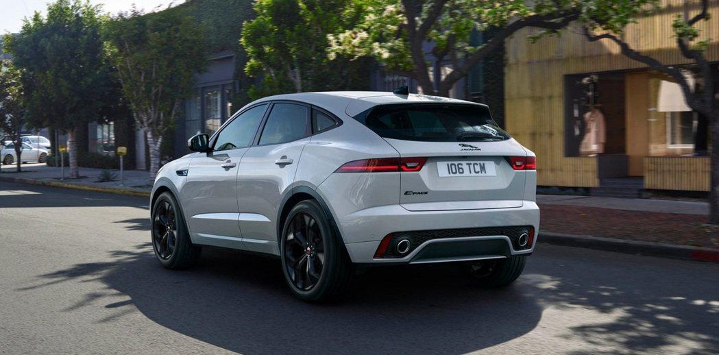 Jaguar E-Pace PHEV純電行駛里程可達55公里。 圖/Jaguar...