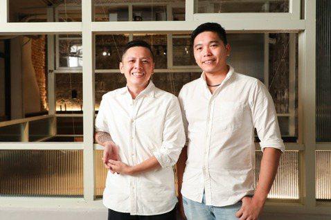 世界麵包冠軍陳耀訓與Sinasera 24主廚楊柏偉。 圖/吳致碩攝影