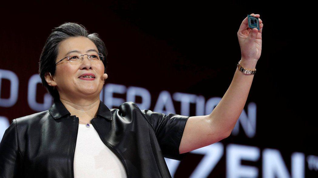 超微(AMD)執行長蘇姿丰。路透