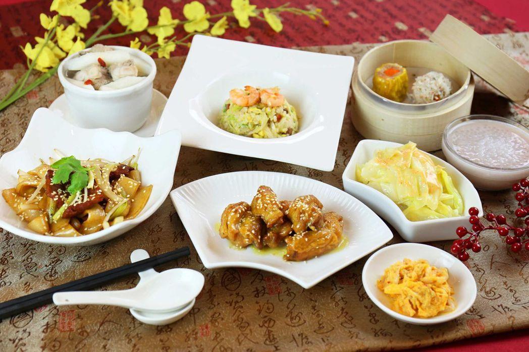 平日入住台南富信大飯店加贈「鼎園粵式套餐」兩客。  富信大飯店 提供
