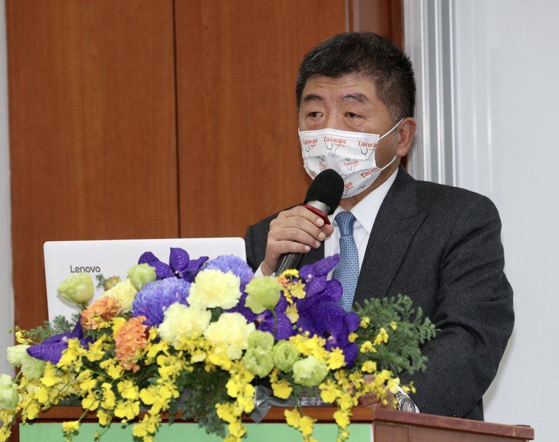 衛福部長陳時中。 中央社