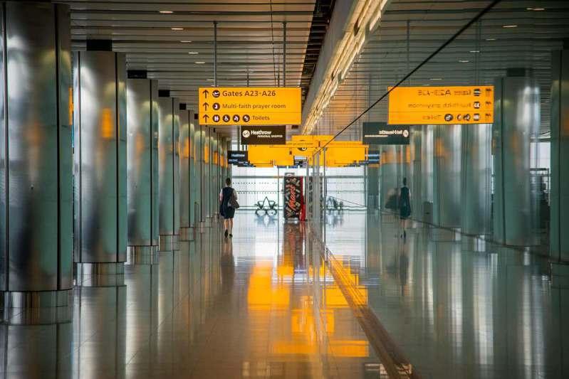 機場示意圖。 圖/stocksnap