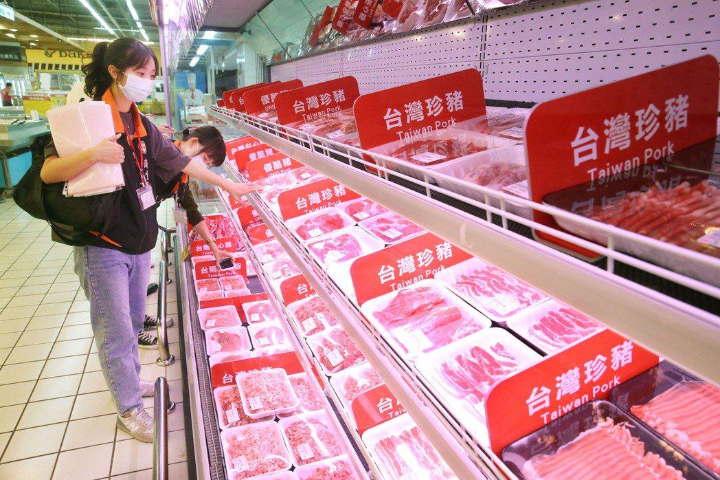 零檢出 拉鋸戰 萊豬即將進口,行政院行文縣市政府,若有訂出違反零檢出即罰款的食安...