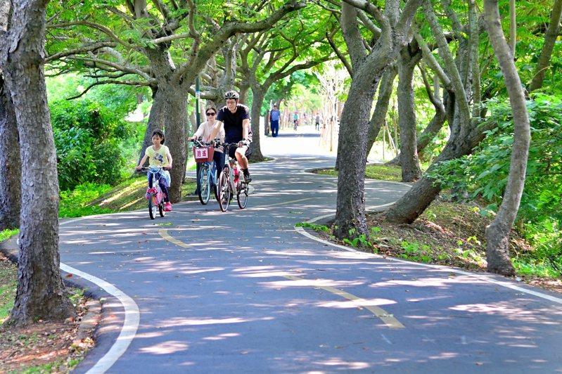 潭雅神綠園道。圖/台中市府觀旅局提供