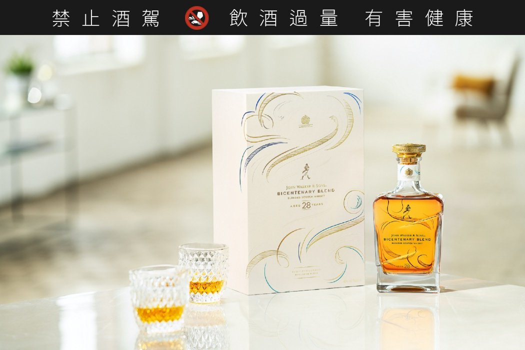 28年 200週年紀念版,酒精濃度46%,建議售價28,000元。圖/JOHNN...