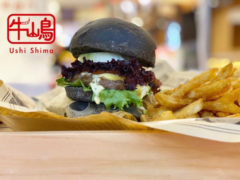 牛嶋Ushi Shima推出現做和牛漢堡。圖/新竹SOGO提供