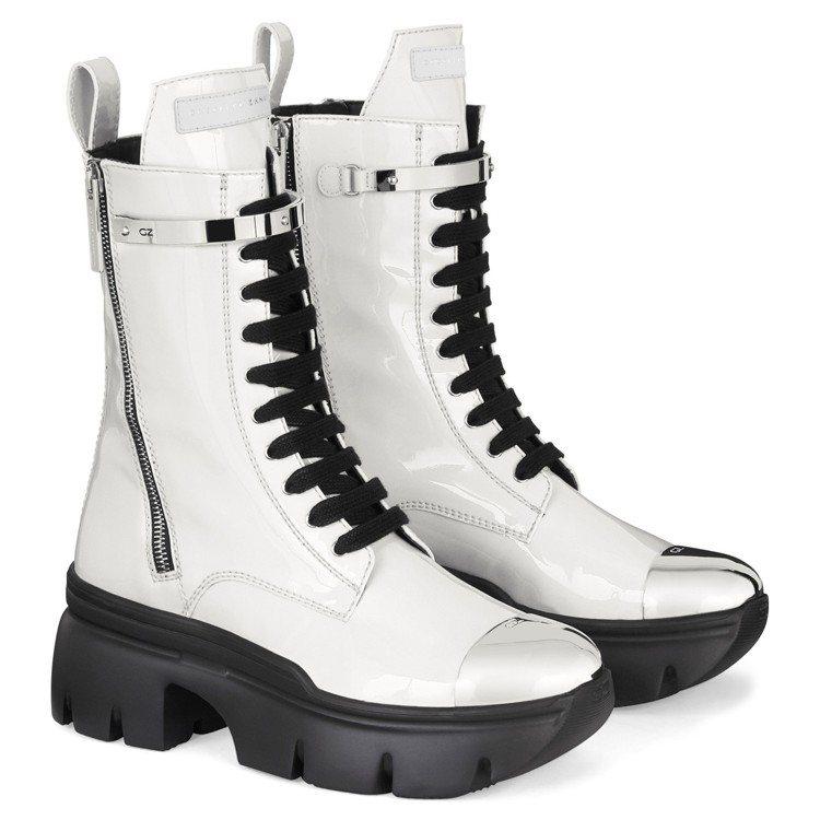 APOCALYPSE METAL軍靴。圖/Giuseppe Zanotti提供