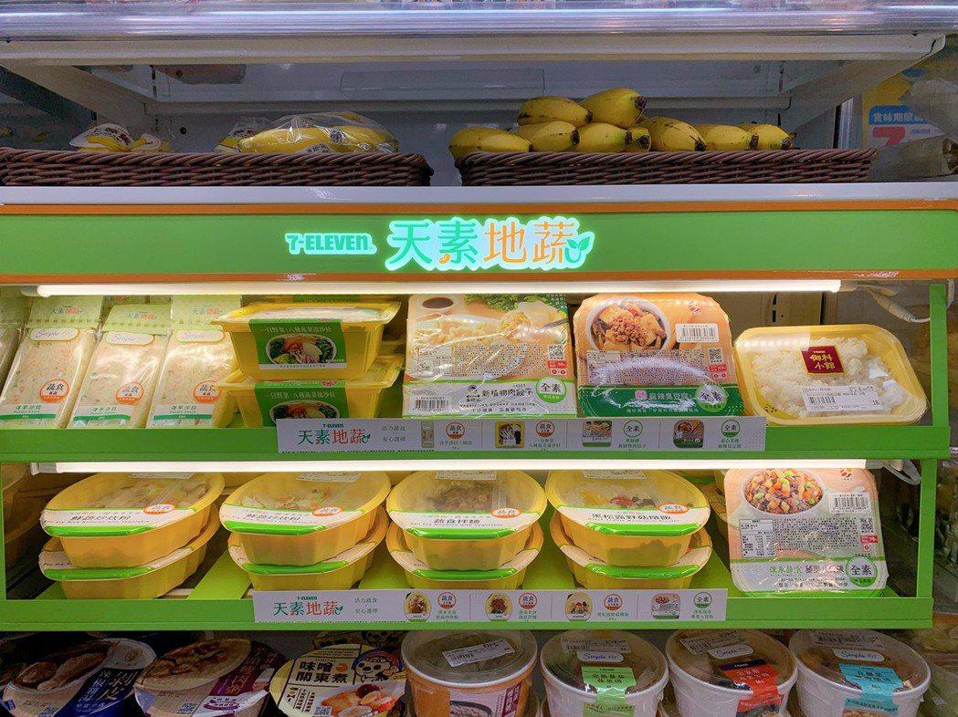 7-ELEVEN鮮食自有品牌「天素地蔬」第一波於11月2日起鎖定鄰近宗教據點及素...