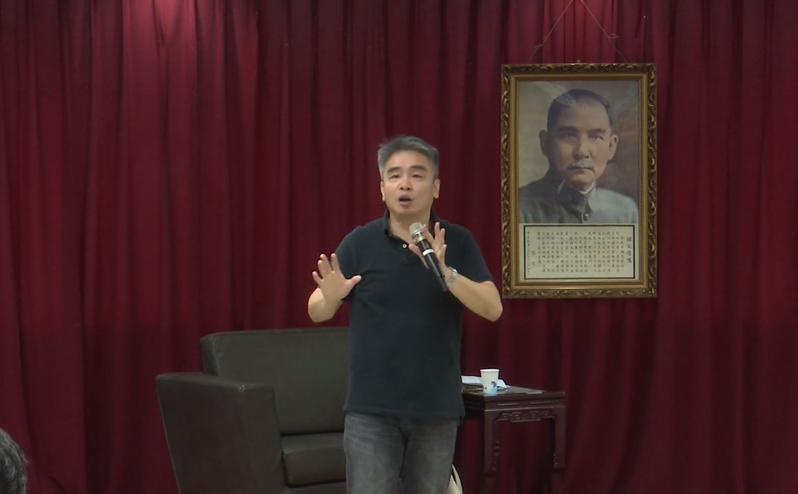 政大法學院副教授廖元豪。圖/翻攝國民黨臉書