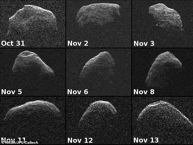「阿波菲斯」的寬度超過一千英尺(約308公尺),撞擊能量相當於8.8億噸三硝基甲苯(TNT,俗稱黃色炸藥)。圖為2012年拍攝阿波菲斯的樣貌。NASA