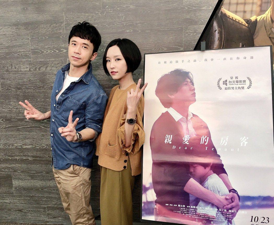 光良(左)新歌「失去了哭泣的能力」,邀來法蘭獻出為男歌手寫歌的初體驗。圖/星娛音