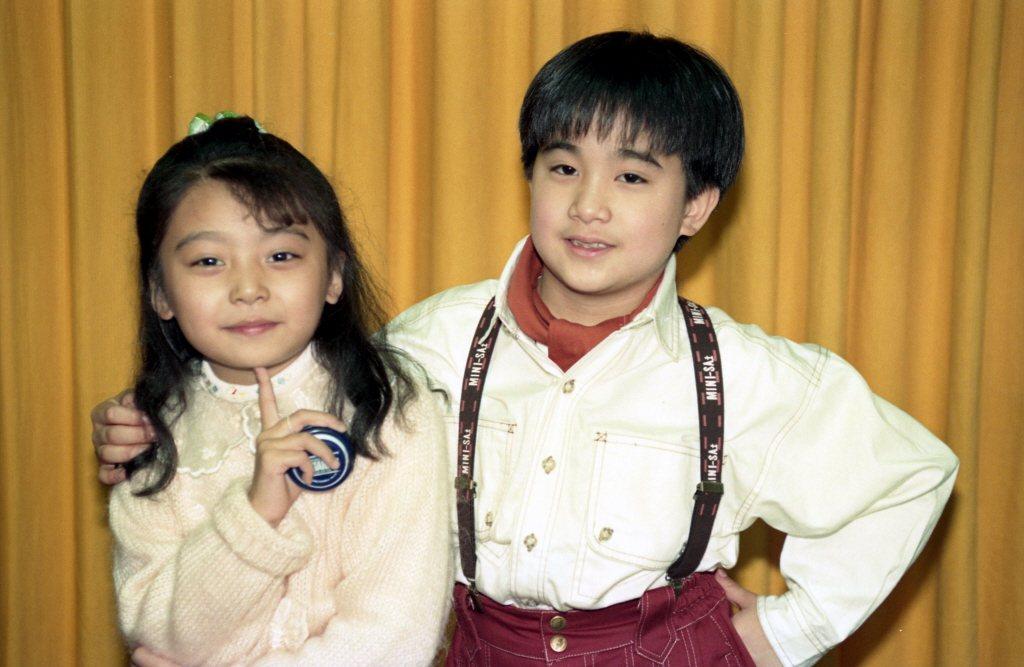 蔡亞臻(左)與夏振皓以前常有機會合作。圖/報系資料照片