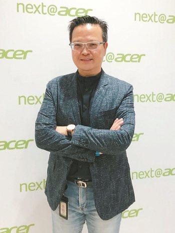 宏碁泛亞營運總部總經理侯知遠。記者蕭君暉/攝影