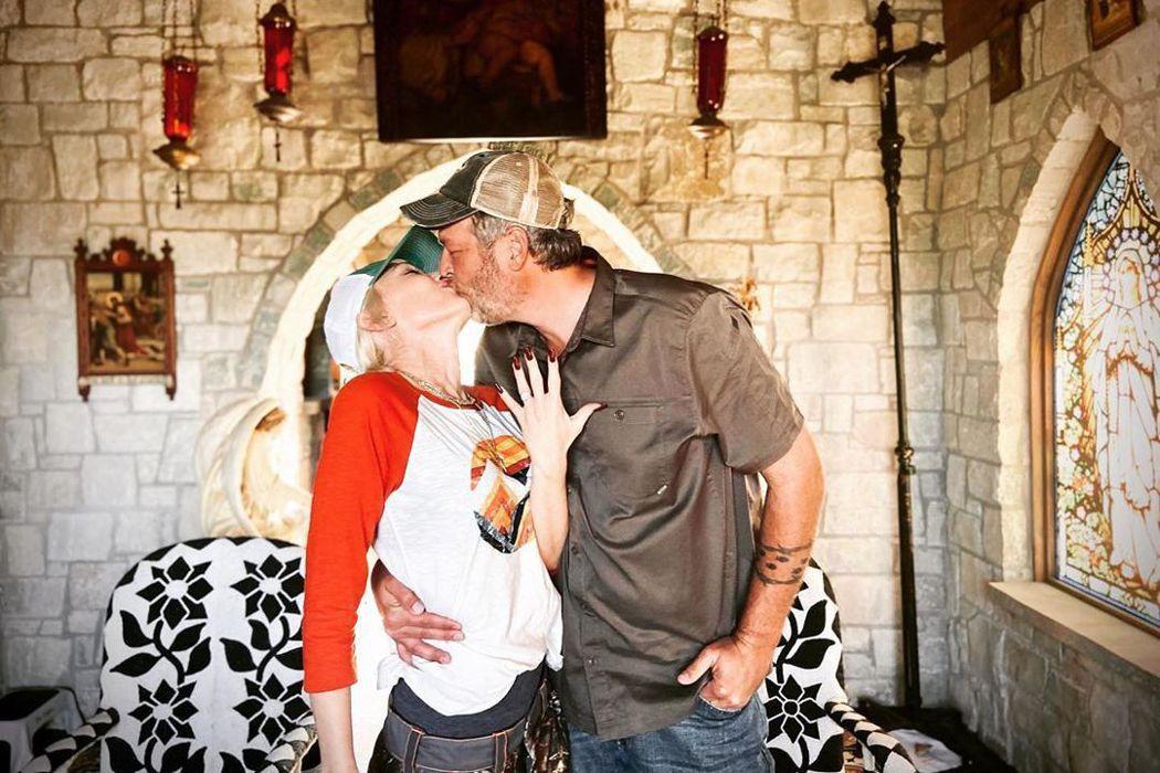 關史蒂芬妮與布雷克雪爾頓宣布訂婚。圖/摘自Instagram
