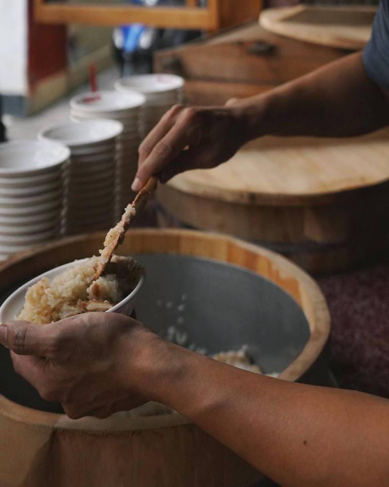台南米糕被怨盛裝太慢,故意飢餓行銷。圖取自店家臉書