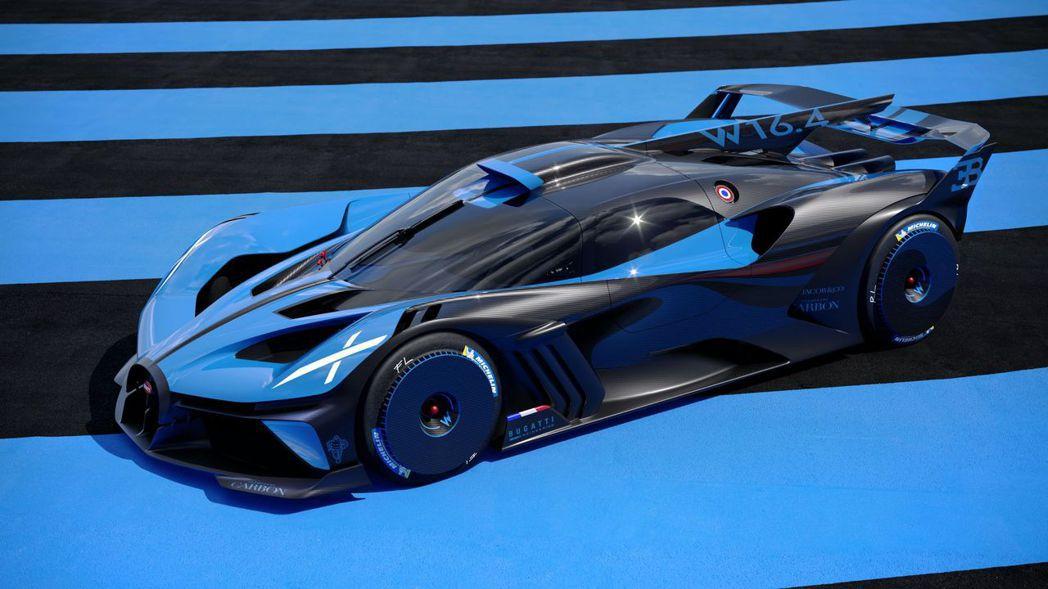 Bugatti Bolide的0-300km/h只需要7.37秒。 圖/Buga...