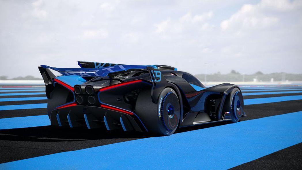 Bugatti Bolide。 圖/Bugatti提供